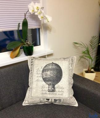 Подушка 50х50 декоративная, шар