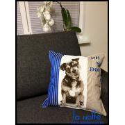 Подушка 45х45 декоративная, щенок