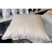 Подушка 50 х 50 лебяжий пух (искусственный)
