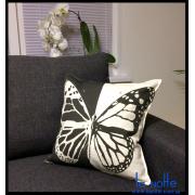 Подушка 45х45 декоративная, бабочка